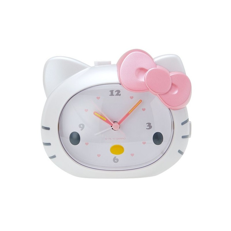 hello kitty talking alarm clock  face