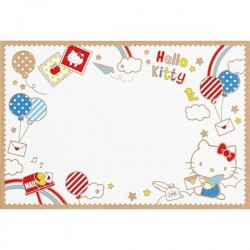 Hello Kitty Post Card: Cloud