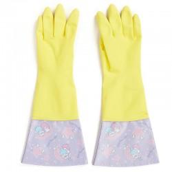 Little Twin Stars Kitchen Gloves: Purple