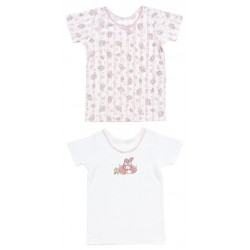 My Melody 2 Pcs Short Sleeve Undershirts: 100