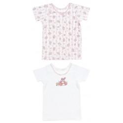My Melody 2 Pcs Short Sleeve Undershirts: 110