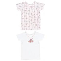 My Melody 2 Pcs Short Sleeve Undershirts: 120