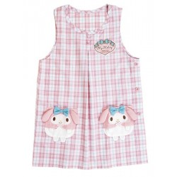 My Melody Tank Top Apron: Check