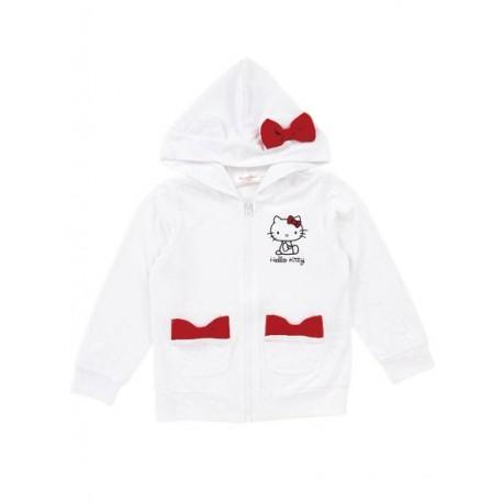 Hello Kitty Zip-Up Jacket: 110 Ribbon