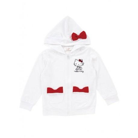 Hello Kitty Zip-Up Jacket: 120 Ribbon