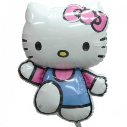 Hello Kitty Big Foil Balloon: Running