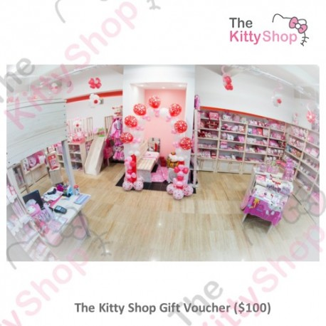 The Kitty Shop $100 Gift Voucher