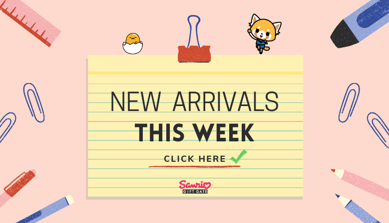 New arrivals this week